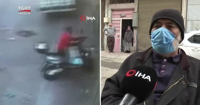 Hem hayallerini hem motosikletini çaldılar