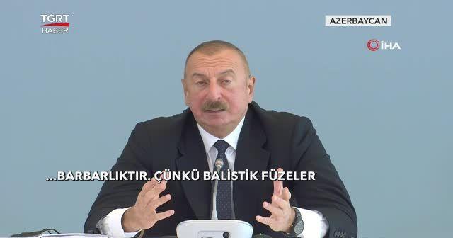 Aliyev: İskender füzeleri nereden geldi?