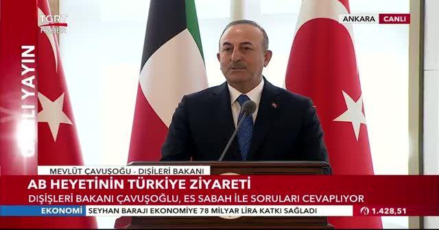 Bakan Çavuşoğlu'ndan protokol tartışmalarına cevap