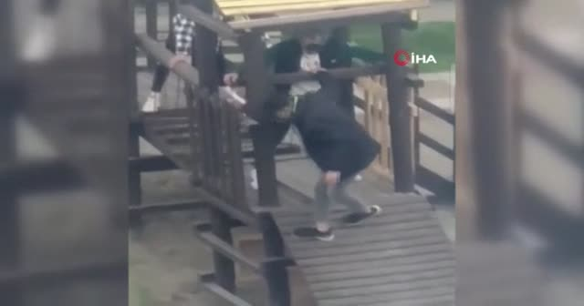 """Bursa'da """"pes dedirten"""" görüntü"""