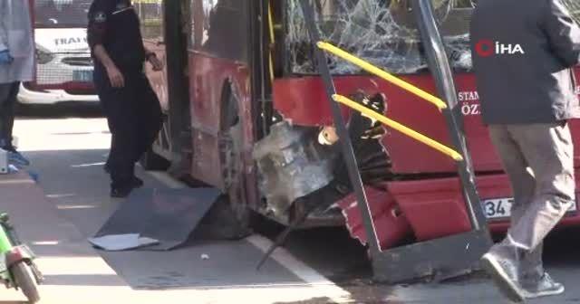Çift katlı hak otobüsü kaza yaptı: 1 ölü