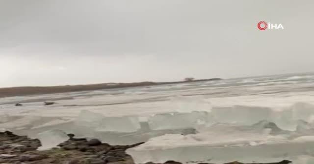Çıldır, kristal göle dönüştü