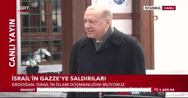 Gazetecilerden Erdoğan'a aşı teşekkürü