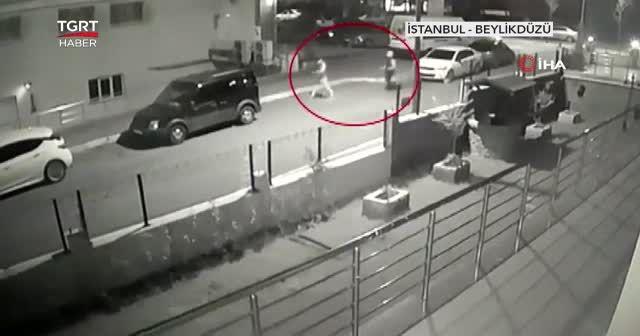 Güvenlik kameraları hırsızı ele verdi