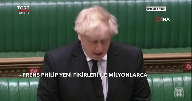 Parlamentodan Philip'e saygı duruşu