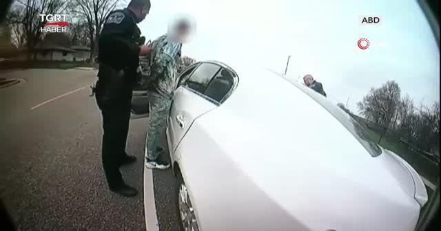 Siyahi adamın öldürülme anı kamerada