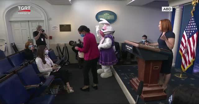 Paskalya tavşanı yeniden Beyaz Saray'da