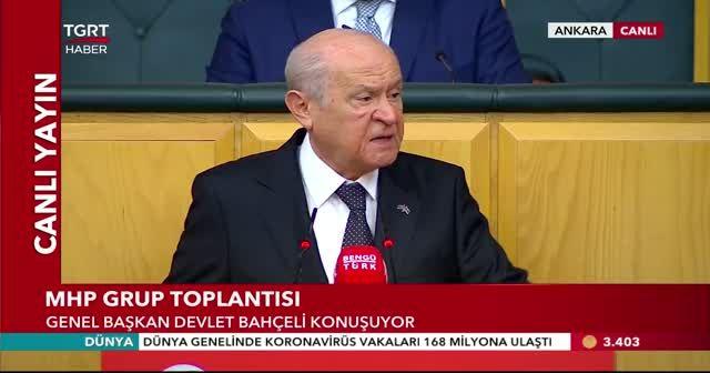 Bahçeli: İçişleri Bakanı yalnız değildir