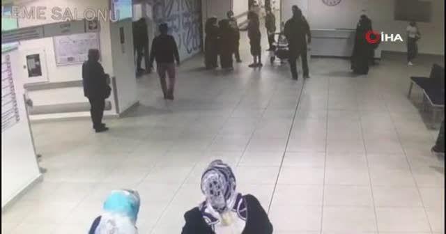 Başkasının bebeğini kaçırmaya çalıştı