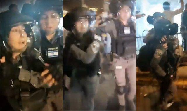Filistinlilere uygulanan şiddet İsrailli kadın polisi ağlattı