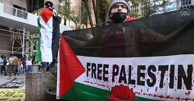 İsrail bu kez ABD'de protesto edildi