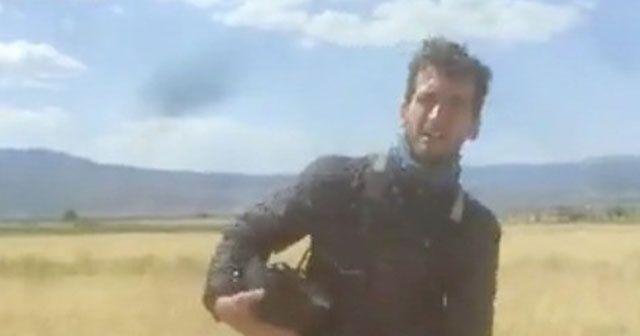 Kanadalı paraşütçü ile Burdurlu çiftçinin güldüren diyaloğu