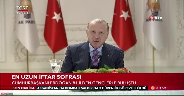 Cumhurbaşkanı Erdoğan'ı gördü gözyaşlarını tutamadı