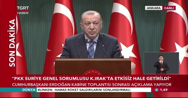 Erdoğan'dan Biden'a İsrail tepkisi: Siz kanlı ellerinizle tarih yazıyorsunuz