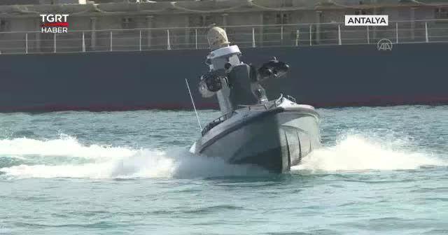 İlk silahlı insansız deniz aracımız hazır