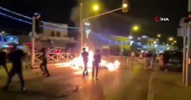 İsrail yine Filistinlilere saldırdı