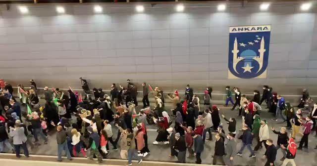 Türkiye'nin dört bir yanından İsrail'e tepki