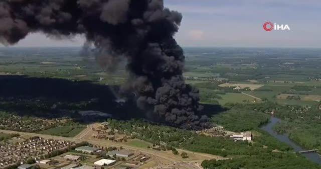 ABD'de kimyasal madde üretilen tesiste şiddetli patlama