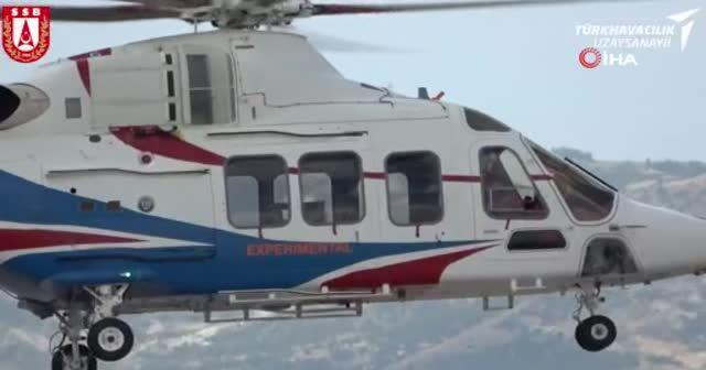 Gökbey Helikopteri'nin 3. prototipinin ilk uçuşu!