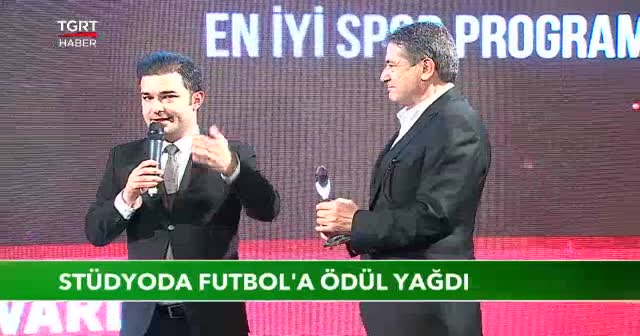 Stüdyoda Futbol'a iki ödül birden
