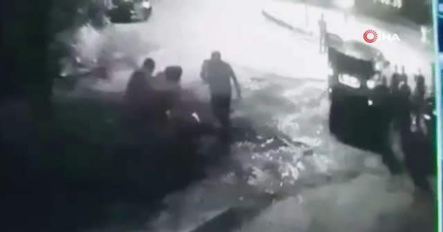 Restoran çıkışı öldüren dayak kamerada