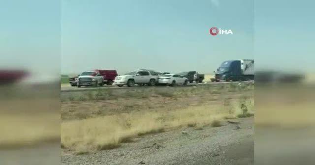 ABD'de kum fırtınası yüzünden zincirleme kaza: 7 ölü