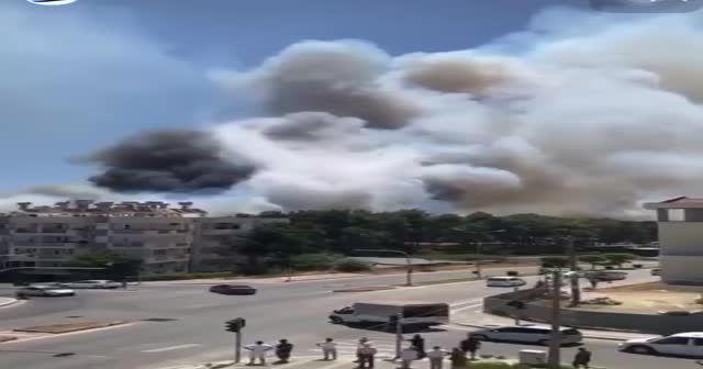 Antalya için Rusya 3 yangın söndürme uçağı yolladı