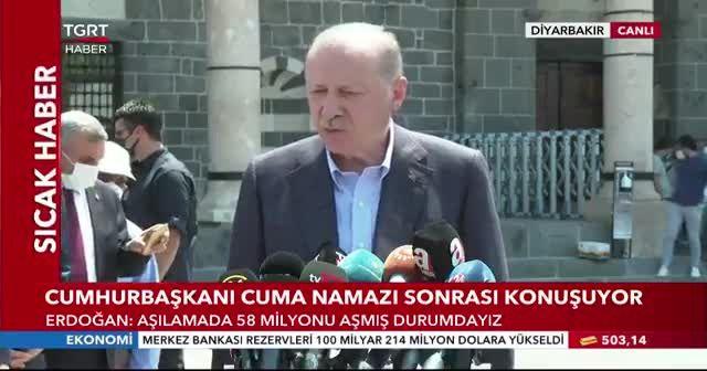 Erdoğan'dan Bayram açıklaması