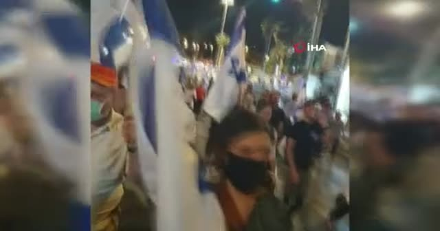 Fanatik Yahudiler Doğu Kudüs'te yürüyüş düzenledi