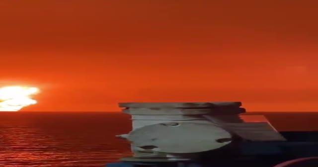 Hazar Denizi'nde patlama!