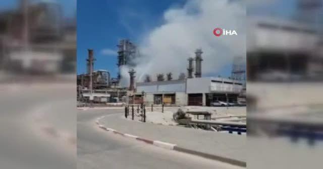 İsrail'de petrol rafinerisinde patlama meydana geldi
