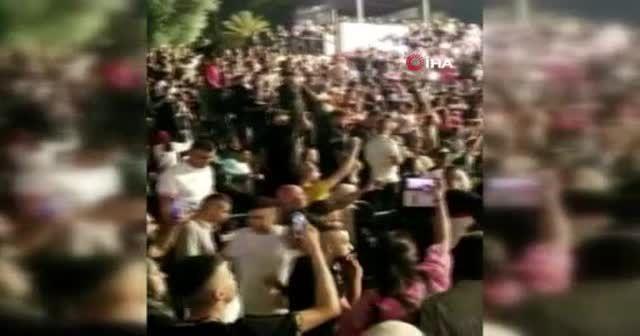 İsrail güçleri, bayramı kutlayan Filistinlilere saldırdı
