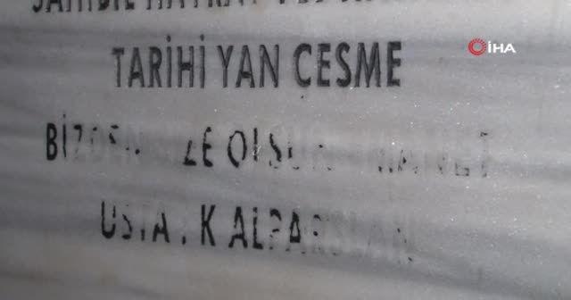İstanbul'da kaçak kurban kesimi çeşmeden kan akıttı