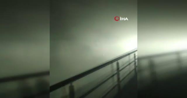 İstanbul korkutan yangın: Mecidiyeköy-Mahmutbey Metro Hattı durduruldu