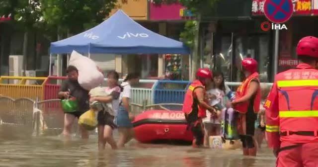 Çin'deki sel felaketinde can kaybı yükseldi