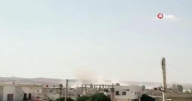 Esad rejiminden Dera'ya topçu saldırısı