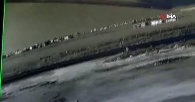 Otomobil çarptı metrelerce havaya fırlattı