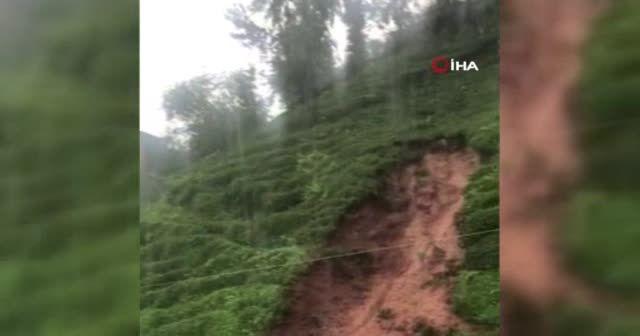 Rize ve Giresun'da sel felaketi: Dereler taştı, evleri su batı
