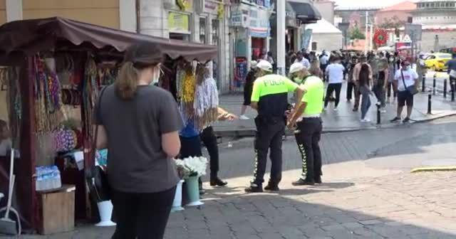 Taksim'de taciz iddiası: Gerginlik yaşandı