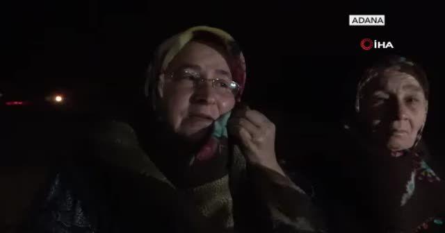 Yangından kaçtı, gözyaşlarına boğuldu: Ailem yanıyor