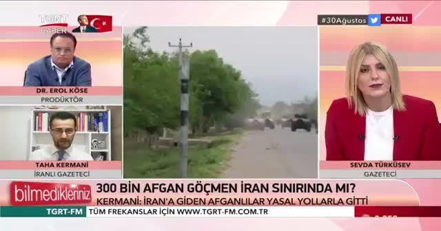 300 bin Afgan Türkiye sınırına mı ilerliyor? İranlı gazeteciden çarpıcı yorum