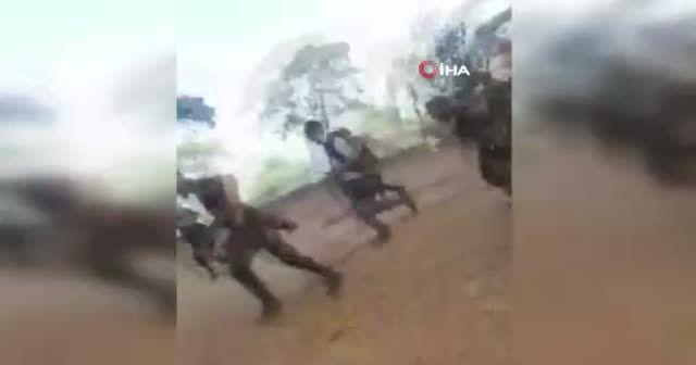 Azerbaycan askerlerinin zor anları: Ölümden döndüler