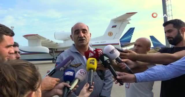 Azerbaycan'dan Türkiye'deki yangınlara ilave destek
