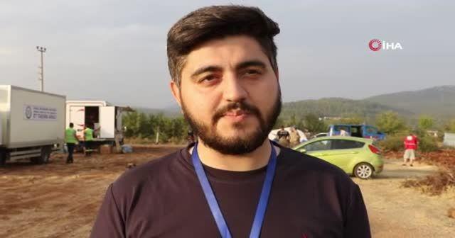 Azerbaycanlı gazetecinin meslek aşkı, balayını bırakıp Türkiye'ye yangına koştu