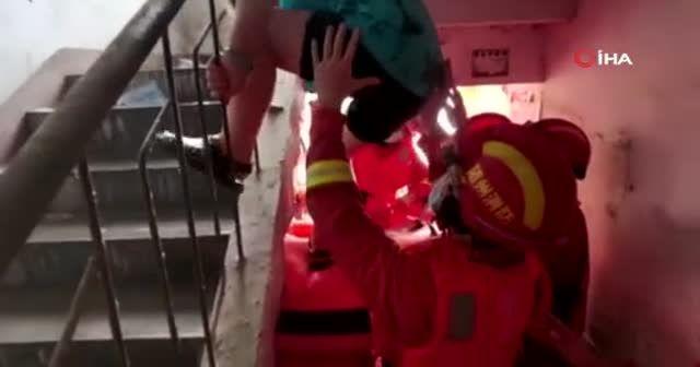 Çin'de sağanak yağışlar sonucu 21 kişi öldü