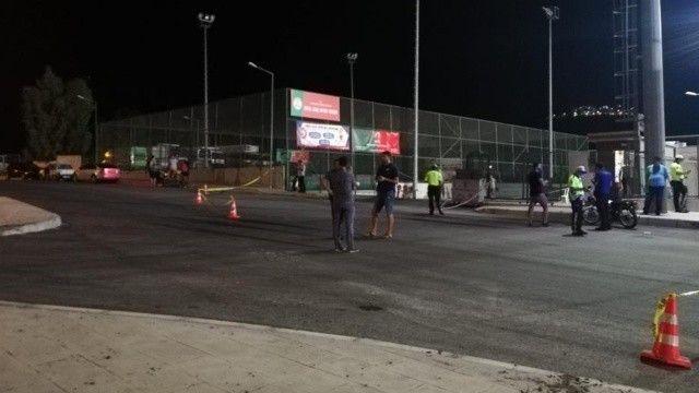 Halı saha kavgasında polise silahlı saldırı