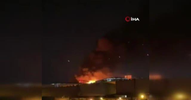 İkitelli Çevre Sanayi Sitesi'nde yangın