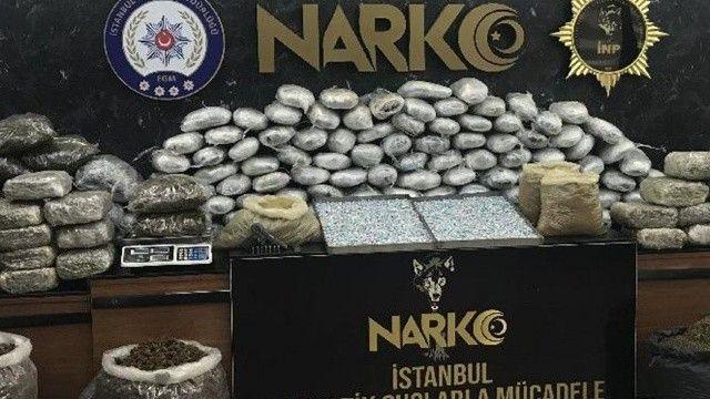 İstanbul'da uyuşturucu operasyonu: 79 kişi tutuklandı