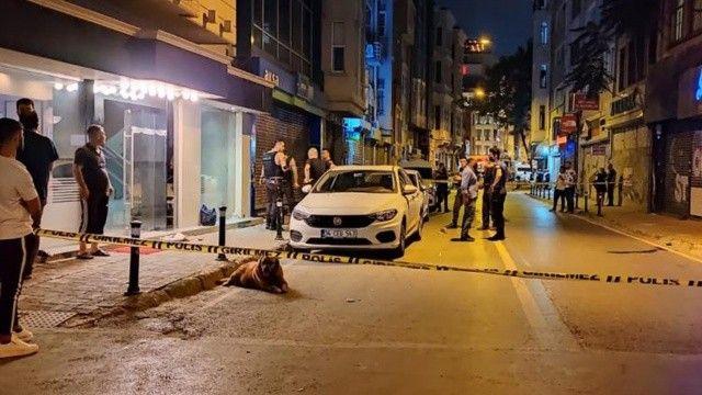 Karaköy'de silahlı kavga: 1 ölü, 1 ağır yaralı