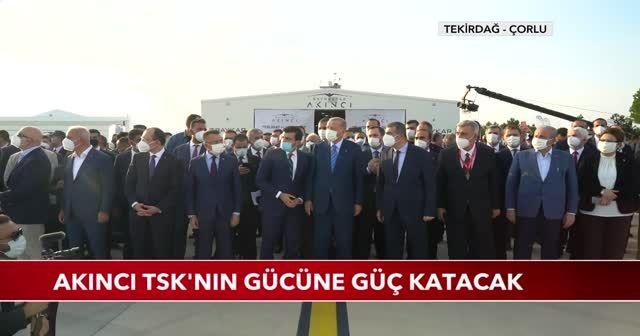 Bayraktar AKINCI TİHA tarihi uçuşunu gerçekleştirdi